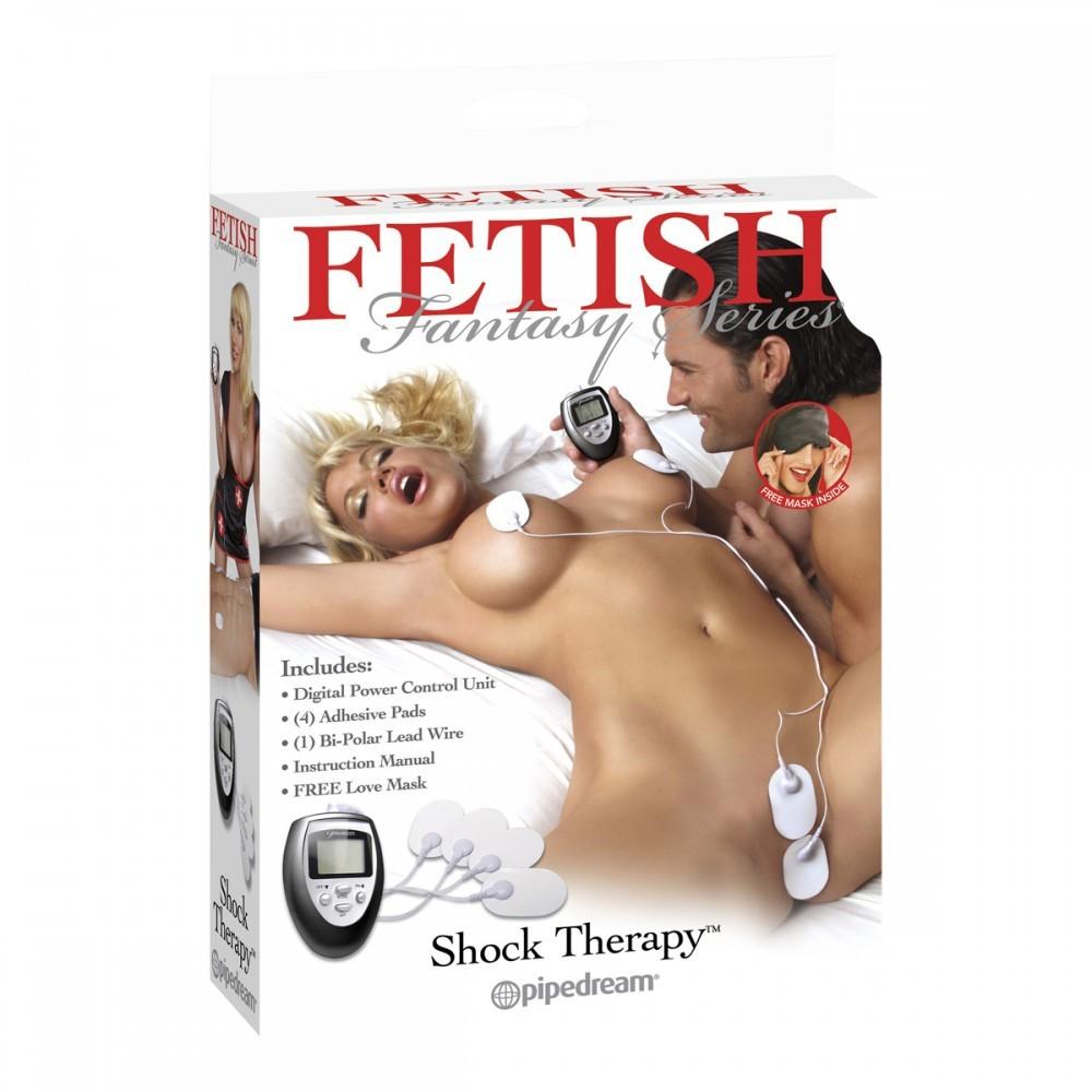 FF Shock Therapy elektrostimulációs készlet, 4 db elektródával