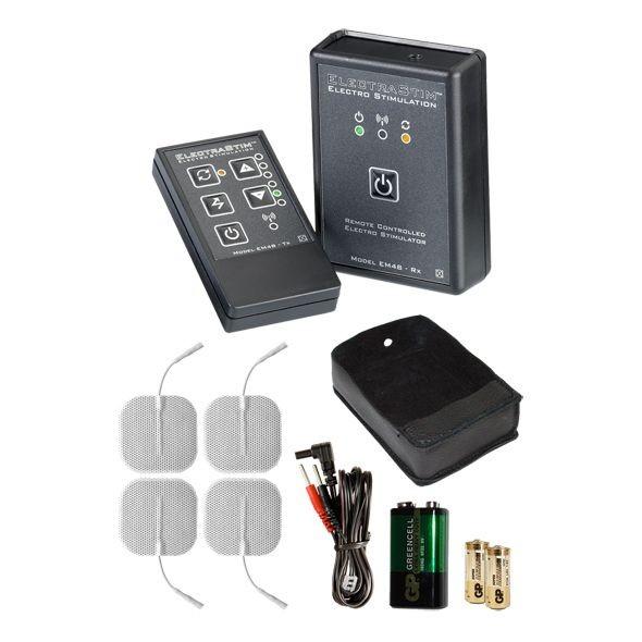 ElectraStim (EM48-E) távirányítású elektrostimulációs készlet