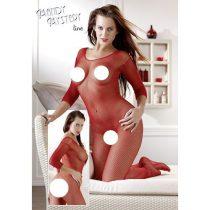 Mandy Mystery egészalakos necc overall (piros)