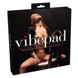 VibePad ráülős vibrátor, távirányítóval, 2 motorral