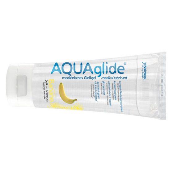 AQUAglide vízbázisú síkosító, banán aromával (100 ml)