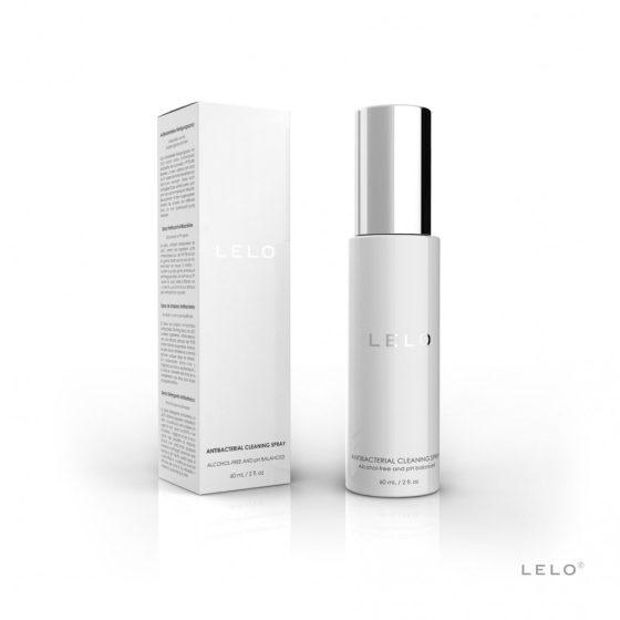 Lelo Antibacterial Cleaning Spray tisztító és fertőtlenítő folyadék (60 ml)