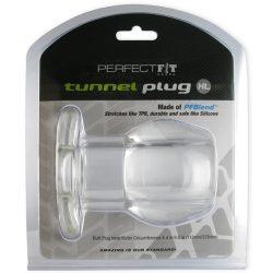 Perfect Fit Tunnel Plug áttetsző fenékdugó (extra nagy)