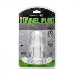 Perfect Fit Double Tunnel áttetsző fenékdugó (közepes)