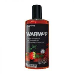 WARMup masszázsolaj eper aromával (150 ml)