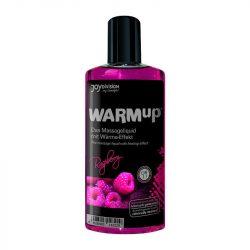 WARMup masszázsolaj málna aromával (150 ml)