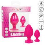 Cheeky 2 db-os fenékdugó szett (rózsaszín)
