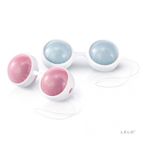 Lelo Luna Beads 2 x 2 darab prémium gésagolyó (mini)