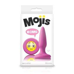 Mojis fenékdugó OMG (rózsaszín)