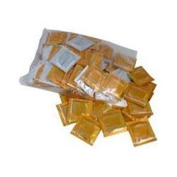 Vitalis Vanilla 100 db arany színű óvszer, vanília aromával