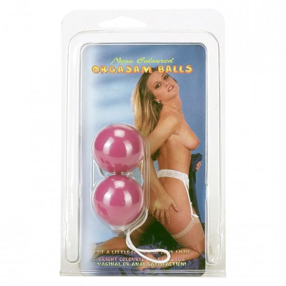 Orgasm Balls gésagolyó pár (lila)