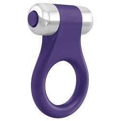 OVO B1 vibrációs péniszgyűrű (lila)