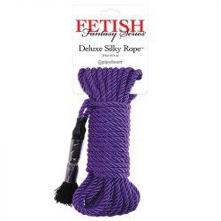 Deluxe Silky Rope bondage kötél 9,75 méter (lila)