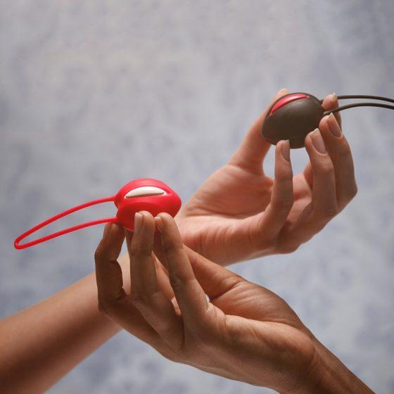 Fun Factory Smartball Uno szimpla gésagolyó (piros)