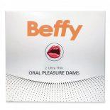 Beffy Oral Dams latex kendő orális szexhez (2 db)