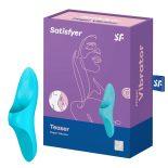 Satisfyer Teaser ujjra húzható vibrátor (kék)