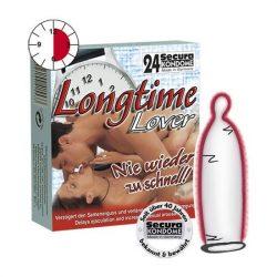 Secura Longtime Lover 24 db óvszer, késleltető síkosítóval