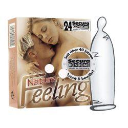 Secura Nature Feeling 24 db óvszer, vékonyabb falvastagsággal