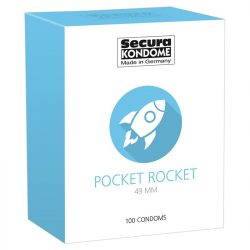 Secura Pocket Rocket óvszer (100 db)
