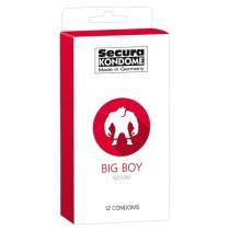 Secura Big Boy 12 db nagy méretű óvszer