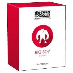 Secura Big Boy 100 db nagy méretű óvszer