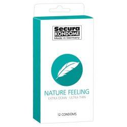 Secura Nature Feeling 12 db óvszer, vékonyabb falvastagsággal