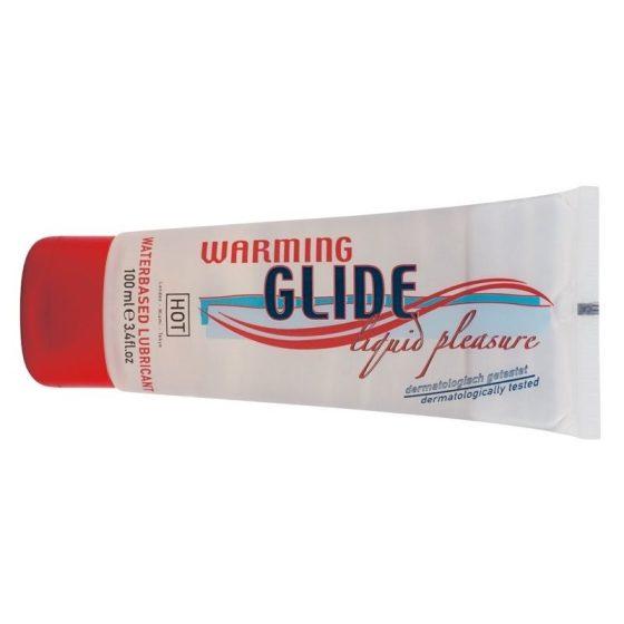 HOT Warming Glide vízbázisú síkosító, hevítő hatással (100 ml)
