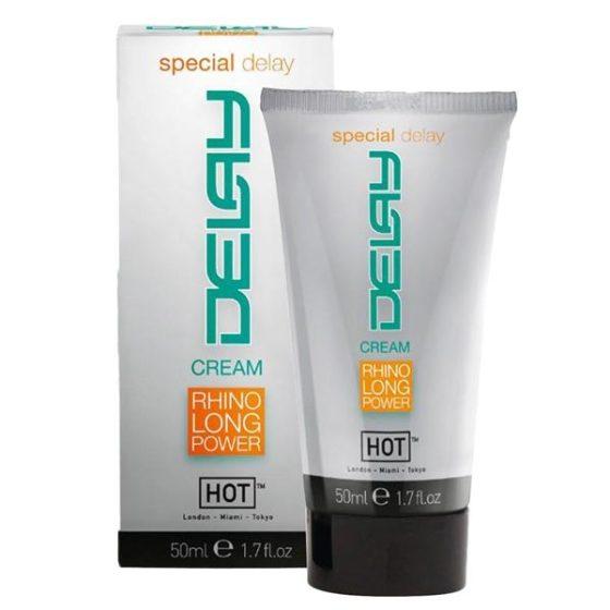 Rhino Delay Cream ejakuláció késleltető krém (50 ml)