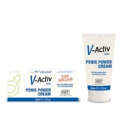 V-Active Penis Power Cream pénisz vitalizáló krém (50 ml)