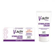 HOT V-Active Stimulation Cream klitorisz krém, stimuláló hatással (50 ml)