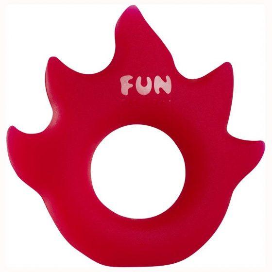 Fun Factory Flame péniszgyűrű (piros)