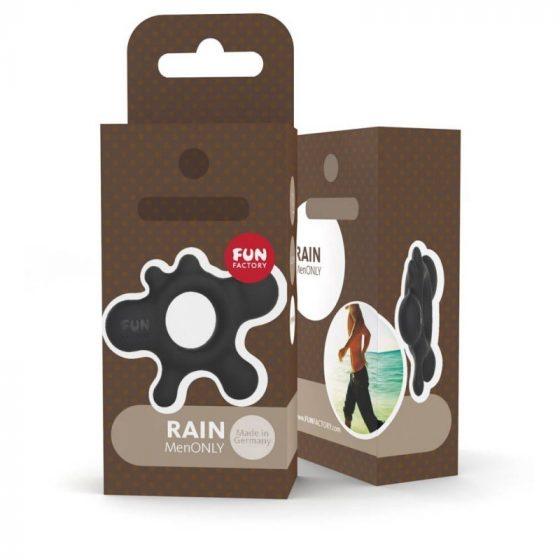 Fun Factory Rain péniszgyűrű (fekete)