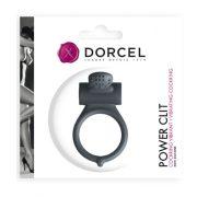 Dorcel Power Clit vibrációs péniszgyűrű (fekete)
