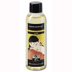 Shiatsu Vanilla Luxury masszázsolaj, vanília aromával (100 ml)
