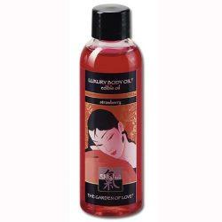 Shiatsu Strawberry Luxury masszázsolaj, eper aromával  (100 ml)