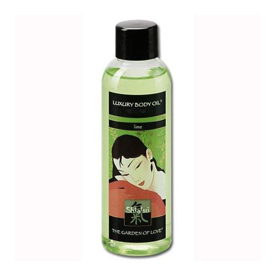 Shiatsu Lime masszázsolaj, zöldcitrom aromával (100 ml) !MEGSZŰNT TERMÉK!