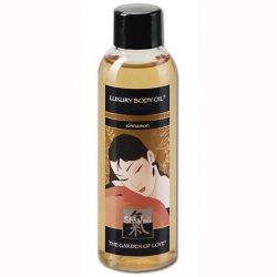 Shiatsu Cinnamon Luxury masszázsolaj fahéj aromával (100 ml)