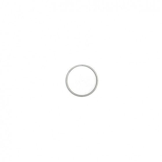Rimba acél péniszgyűrű, 0,5 cm széles (1 db)
