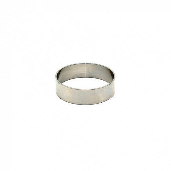 Rimba Péniszgyűrű orvosi acélból, lapos, 1,5 cm széles (1 db)