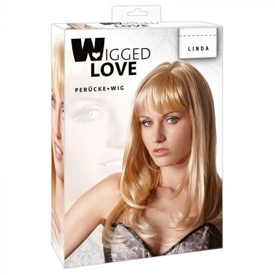 Wigged Love középhosszú, szőke paróka !MEGSZŰNT TERMÉK!