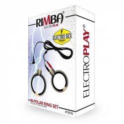 Rimba elektro péniszgyűrű pár (hengeres)