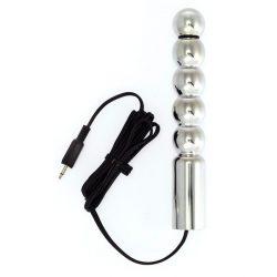 Rimba gömbös elektro dildó (160x25mm)