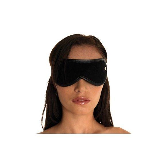 Rimba bőr szemtakaró (fekete)