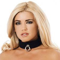 Rimba elegáns fekete nyakörv
