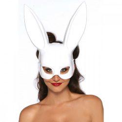 Leg Avenue óriás nyuszifüles maszk (fehér)