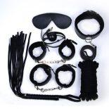 12 részes bondage készlet (fekete)