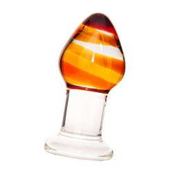 Sexus Glas üveg fenékdugó (mintás)
