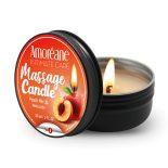 Amoréane Peach Me Up masszázsgyertya, őszibarack aromával (30 ml)