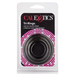 Tri-Rings péniszgyűrű készlet (3 db)