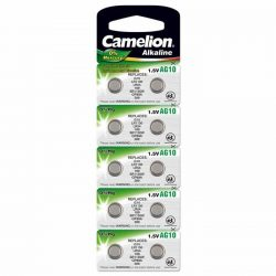 Camelion LR54 alkáli gombelem (10 db)